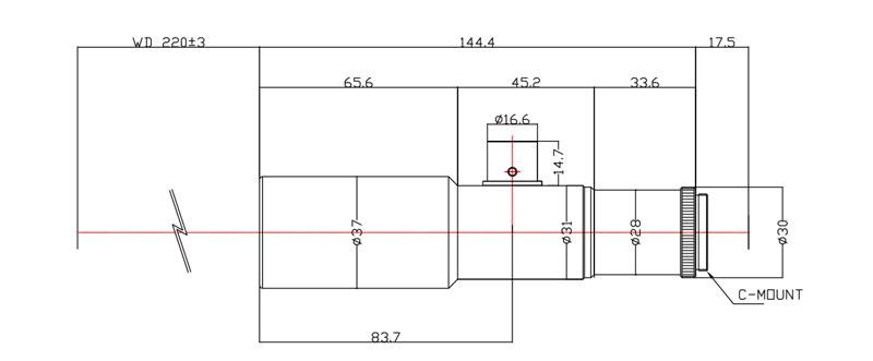 远心镜头(Telecentric),主要是为纠正传统镜头的视差而特殊设计的镜头,它可以在一定的物距范围内,使得到的图像放大倍率不会随物距的变化而变化,这对被测物不在同一物面上的情况是非常重要的应用。此外,远心镜头(Telecentric)相比普通镜头,还具有低畸变,高景深,高分辨力等特性 。远心镜头由于其特有的平行光路设计一直为对镜头畸变要求很高的机器视觉应用场合所青睐,广泛应用于半导体、机械零部件,科研印钞等相关行业,主要完成精密测量、激光测径,定位等工作任务。